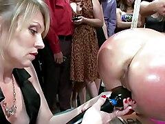 Huge boobs sub dp banged in public