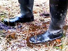 Boots porn rubber Rubber